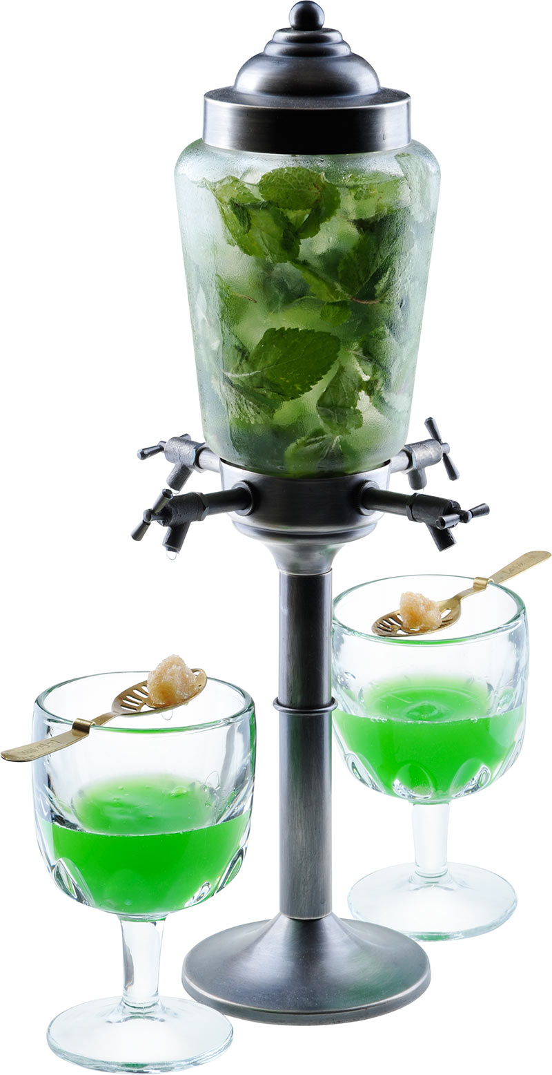How to Make the Fountain with Absinthe