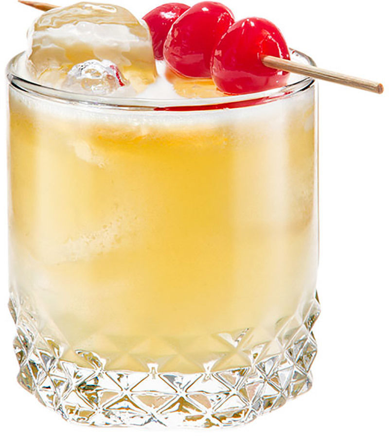 How to Make the Peach Whiskey Sour