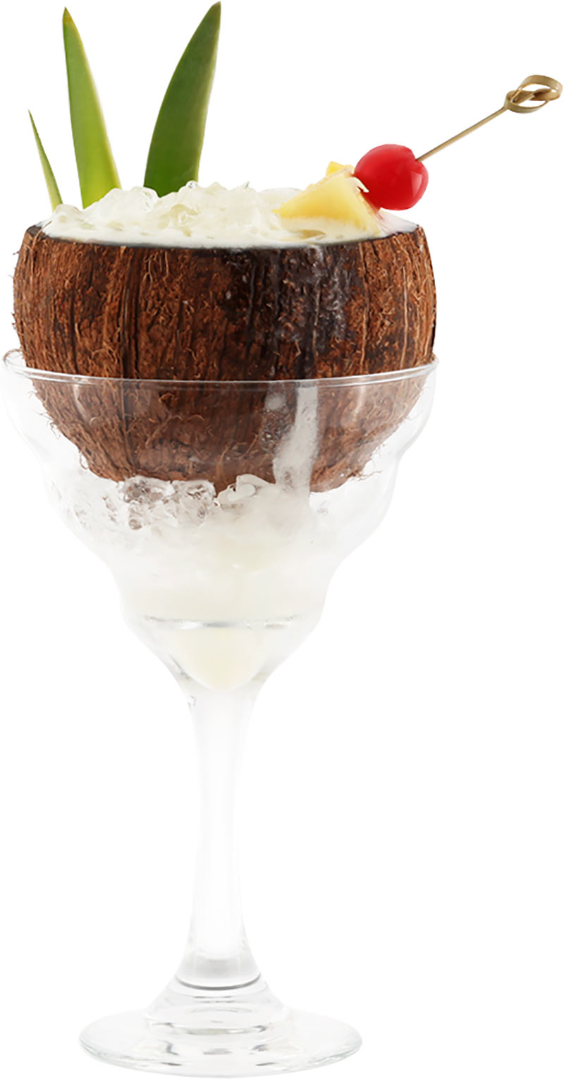 How to Make the Piña Colada in a Coconut